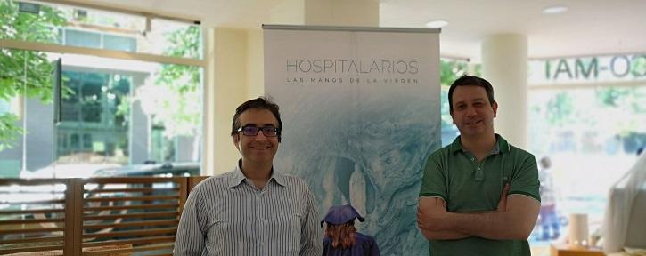 José Luis Panero y el director de cine, Jesús García Colomer | 'Palomitas de Maíz' cumple hoy 11 años: ¡Muchísimas felicidades!