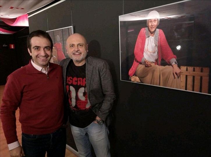 José Luis Panero y Juan Carlos Pérez de la Fuente | 'Óscar o la felicidad de existir' revienta la Sala Arapiles 16
