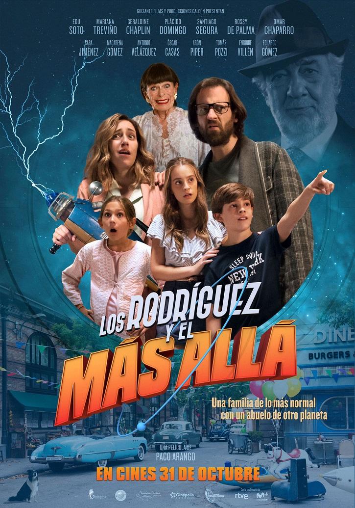 Cartel promocional de Los Rodríguez y el más allá | 'Los Rodríguez y el más allá': Paco Arango triunfa con la comedia familiar