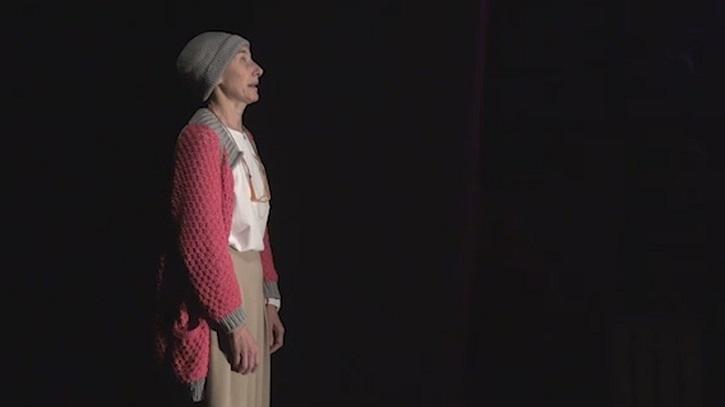 Mona Martínez brilla con luz propia | 'Óscar o la felicidad de existir' revienta la Sala Arapiles 16