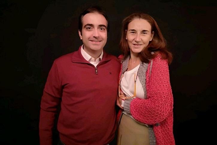 José Luis Panero y Mona Martínez | 'Óscar o la felicidad de existir' revienta la Sala Arapiles 16