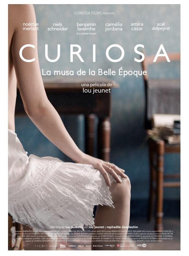 Cartel promocional de Curiosa, con la que debuta en el largo la cineasta Lou Jeunet | La 'Curiosa' Lou Jeunet fracasa con esta película feminista de perfil bajo