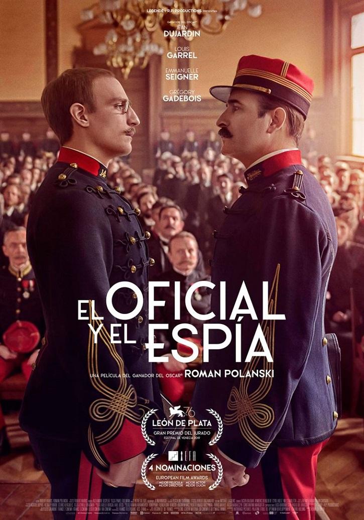 Cartel promocional del filme El oficial y el espía, de Roman Polanski | 'El oficial y el espía': Roman Polanski mantiene intacto su talento