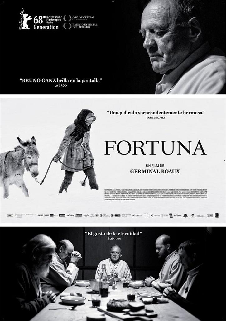 Cartel promocional del filme Fortuna | 'Fortuna': ¿Seguro que Dios escribe derecho con renglones torcidos?