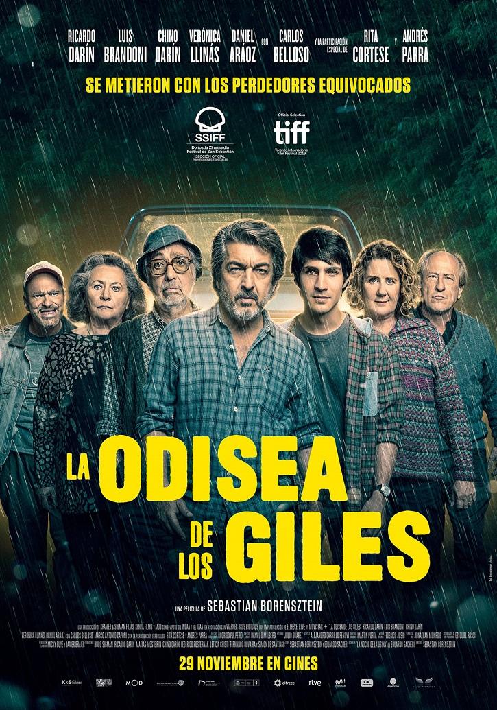 Cartel promocional del filme argentino La odisea de los giles, del bonaerense Sebastián Borensztein   'La odisea de los giles': Sebastián Borensztein irá a los Oscar