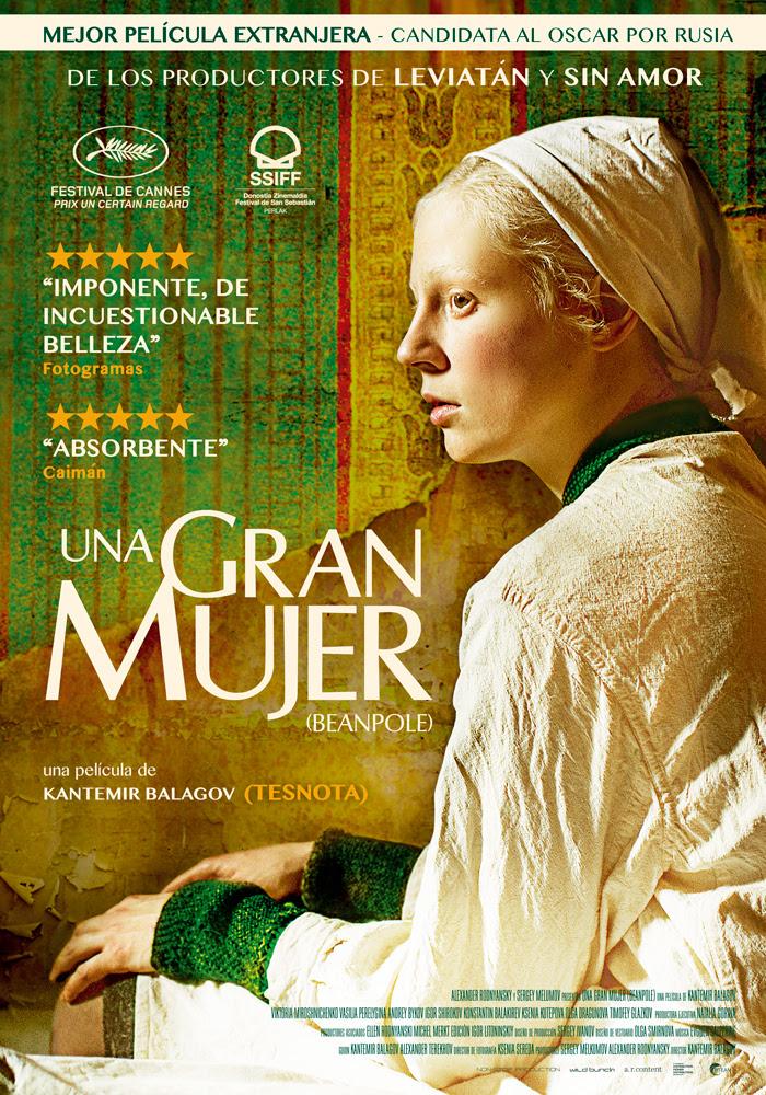 Cartel promocional del filme Una gran mujer | 'Una gran mujer': Kantemir Balagov opta por derecho propio al Oscar
