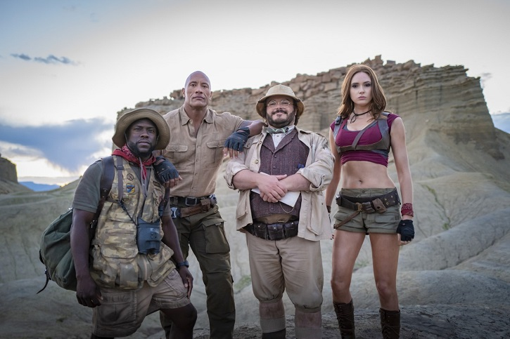 Dwayne Johnson, Jack Black, Karen Gillan, Kevin Hart | 'Jumanji: Siguiente nivel': Jake Kasdan se conforma con la mediocridad