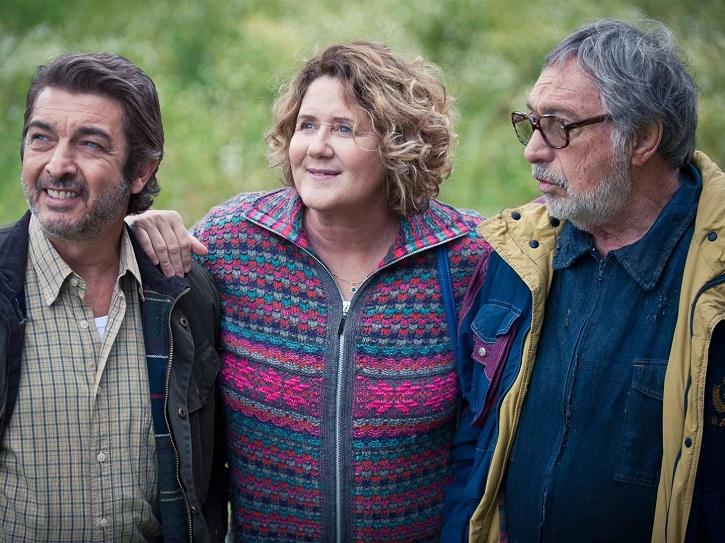 Trío de ases: Luis Brandoni, Ricardo Darín, Rita Cortese   'La odisea de los giles': Sebastián Borensztein irá a los Oscar