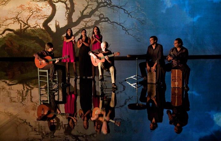 Fotograma del filme Flamenco, flamenco, de Carlos Saura | Cátedra lanza Flamenco y Cine: impecables Carlos Aguilar y Anita Haas