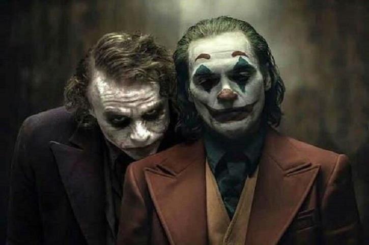 Heath Ledger y Joaquin Phoenix caracterizados de Joker | ¿Joaquin Phoenix ('Joker') o Heath Ledger ('El caballero oscuro')?