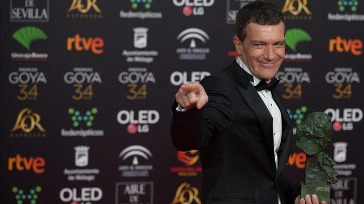 Antonio Banderas | 'Premios Goya 2020': 'Dolor y Gloria' arrasa con 7 estatuillas