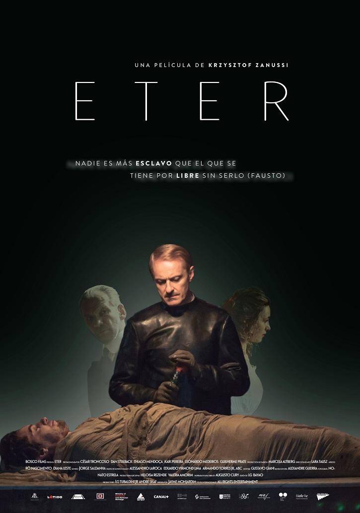 Cartel promocional del filme Eter | 'Eter': Krzysztof Zanussi entrega un ejemplar drama sobre ciencia y fe