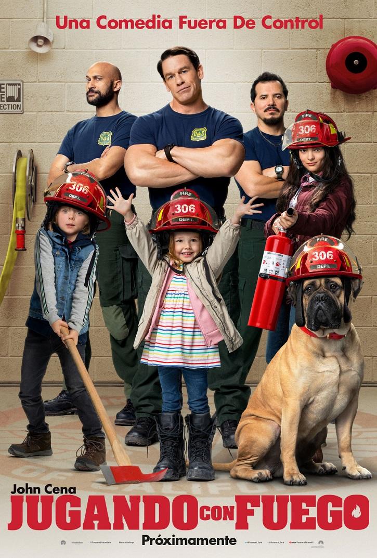 Cartel promocional del filme | Andy Fickman aburre con su cansina comedia 'Jugando con fuego'