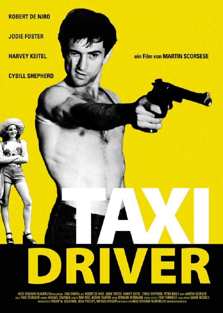 Cartel de Taxi Driver |  'Fantasía' inaugura el ciclo de cine clásico y de culto de Yelmo Cines