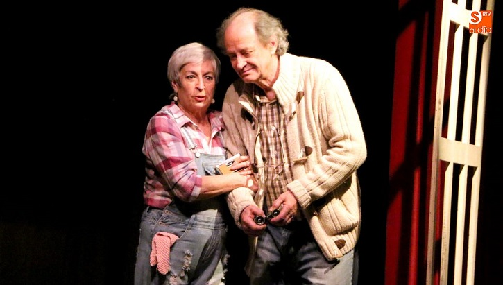 Milagros Morón y Luis Higueras, un matrimonio para la eternidad | Ateneo de Pozuelo en IV Muestra de FETAM con 'En el estanque dorado'