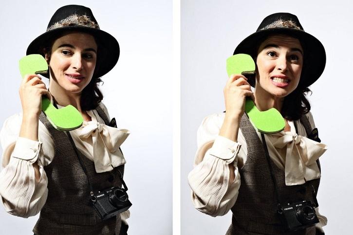 Natalia Erice convertida en la señora Bianchi | Impecable Natalia Erice en la Sala Mirador con 'Ring, ring, cuénteme'