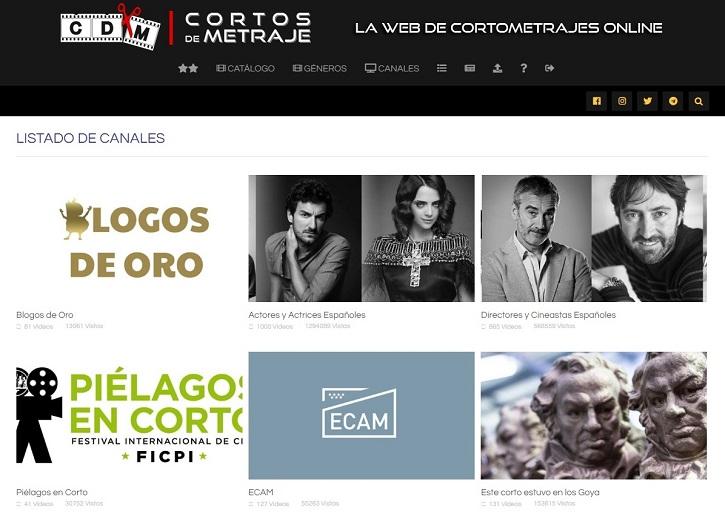 Canales | La plataforma de cine 'Cortos de Metraje' cumple hoy 4 años