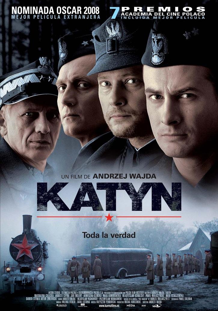 Cartel promocional del filme Katyn | 'Katyn', según el cineasta Andrzej Wajda, 80 años después