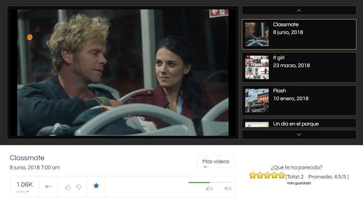 Listas de vídeo personalizadas | La plataforma de cine 'Cortos de Metraje' cumple hoy 4 años