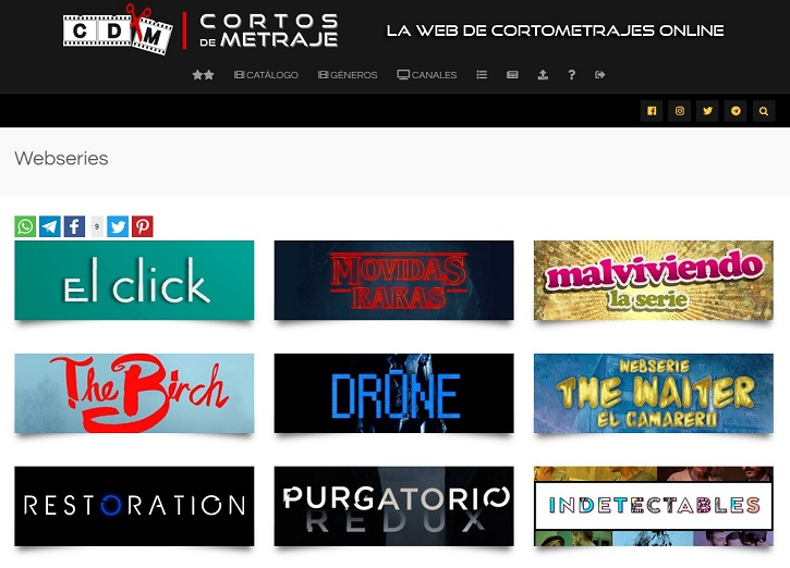 Webseries | La plataforma de cine 'Cortos de Metraje' cumple hoy 4 años