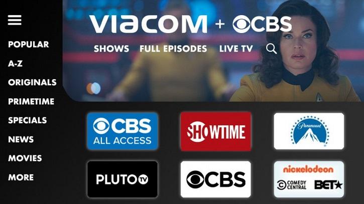 Apariencia de Viacom CBS | 'FuboTV' firma una alianza con 'ViacomCBS Networks España'