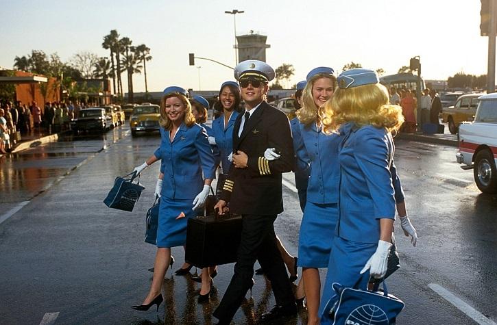 Icónico fotograma del filme | 'Atrápame si puedes': Spielberg desafina en este drama lleno de estrellas