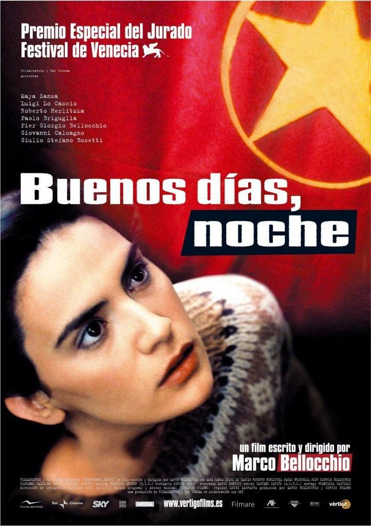Cartel promocional del filme | 'Buenos días, noche': asesinato de Aldo Moro, según Marco Bellocchio