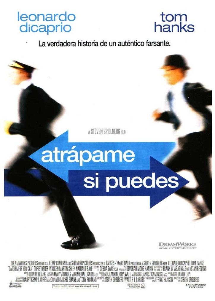 Cartel promocional del filme | 'Atrápame si puedes': Spielberg desafina en este atractivo retrato del hombre de las mil caras