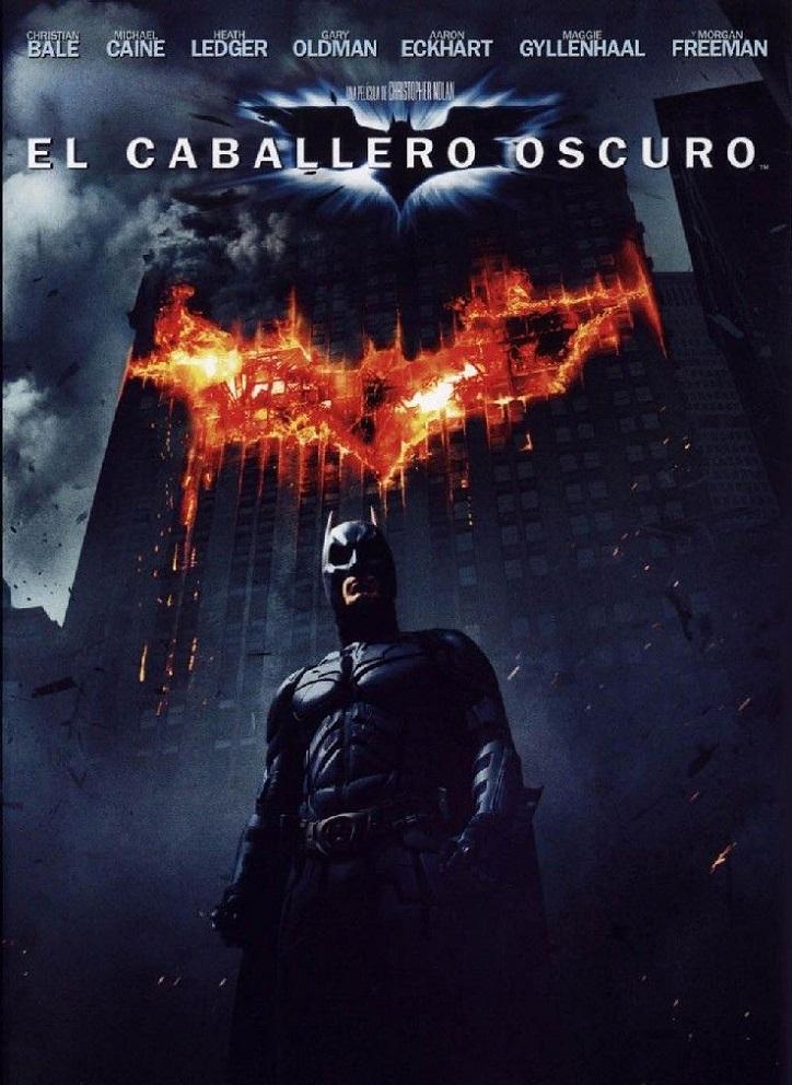 Cartel promocional del filme | 'El caballero oscuro': La leyenda renace': Gotham contra Heath Ledger
