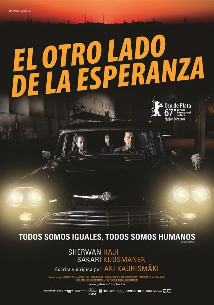 Cartel promocional del filme | 'El otro lado de la esperanza': Aki Kaurismäki, entre la desolación y la nada