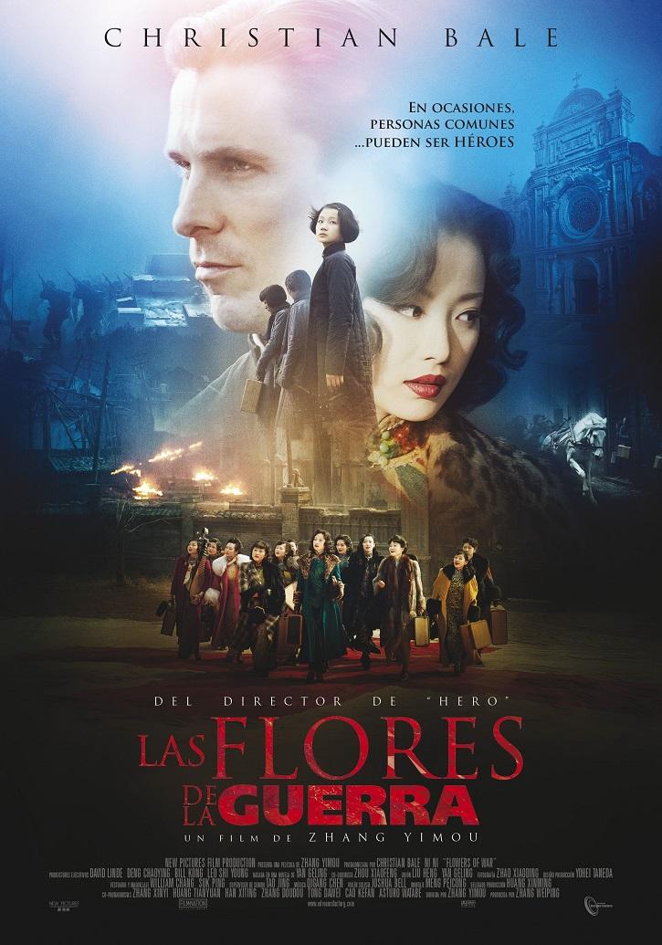 Cartel promocional de Las flores de la guerra | Sábado Santo: 'Las flores de la guerra' o la esperanza que no se derrite