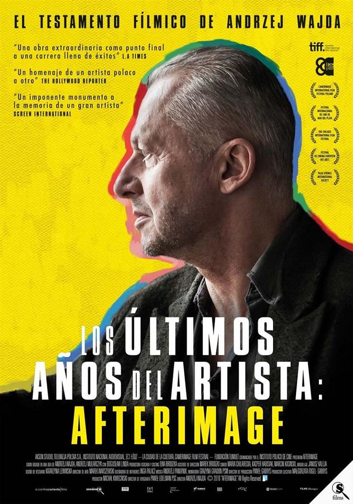 Cartel promocional del filme | 'Los últimos años del artista: Afterimage': Wajda dice no al comunismo