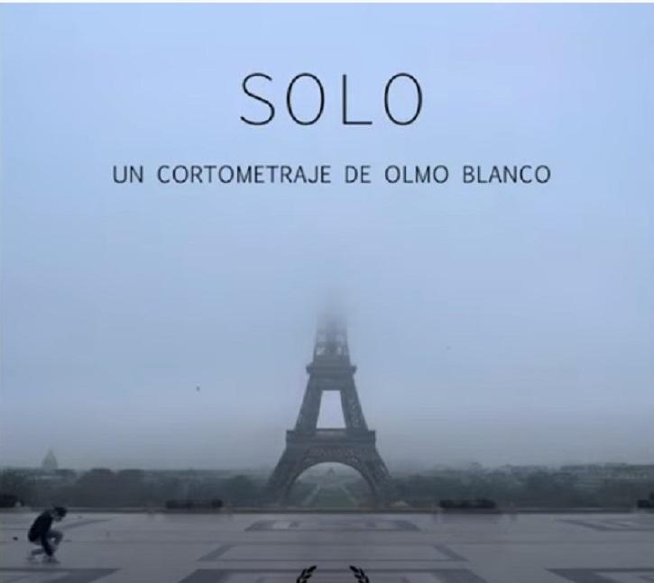 Cartel de Solo, el corto de Olmo Blanco | Olmo Blanco estrena 'Solo', el cortometraje que se adelantó al coronavirus