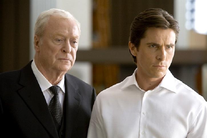 Michael Caine y Christian Bale | 'El caballero oscuro': La leyenda renace': Gotham contra Heath Ledger