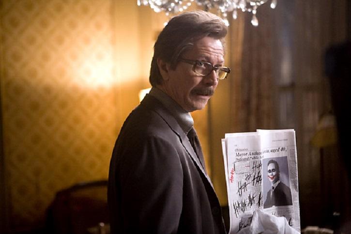 Cary Oldman | 'El caballero oscuro': La leyenda renace': Gotham contra Heath Ledger