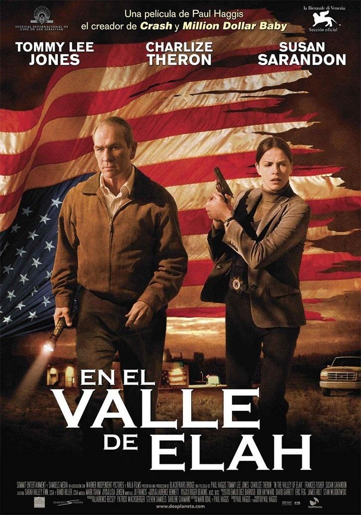 Cartel promocional del filme | 'En el valle de Elah': Paul Haggis, preocupado por la salud moral de USA