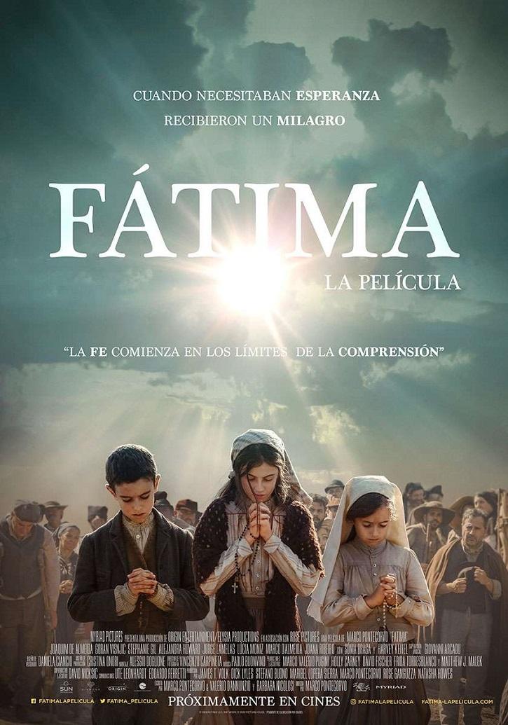 Cartel promocional del filme | 13 de mayo: Diamond Films lanza hoy el tráiler de 'Fátima, la película'