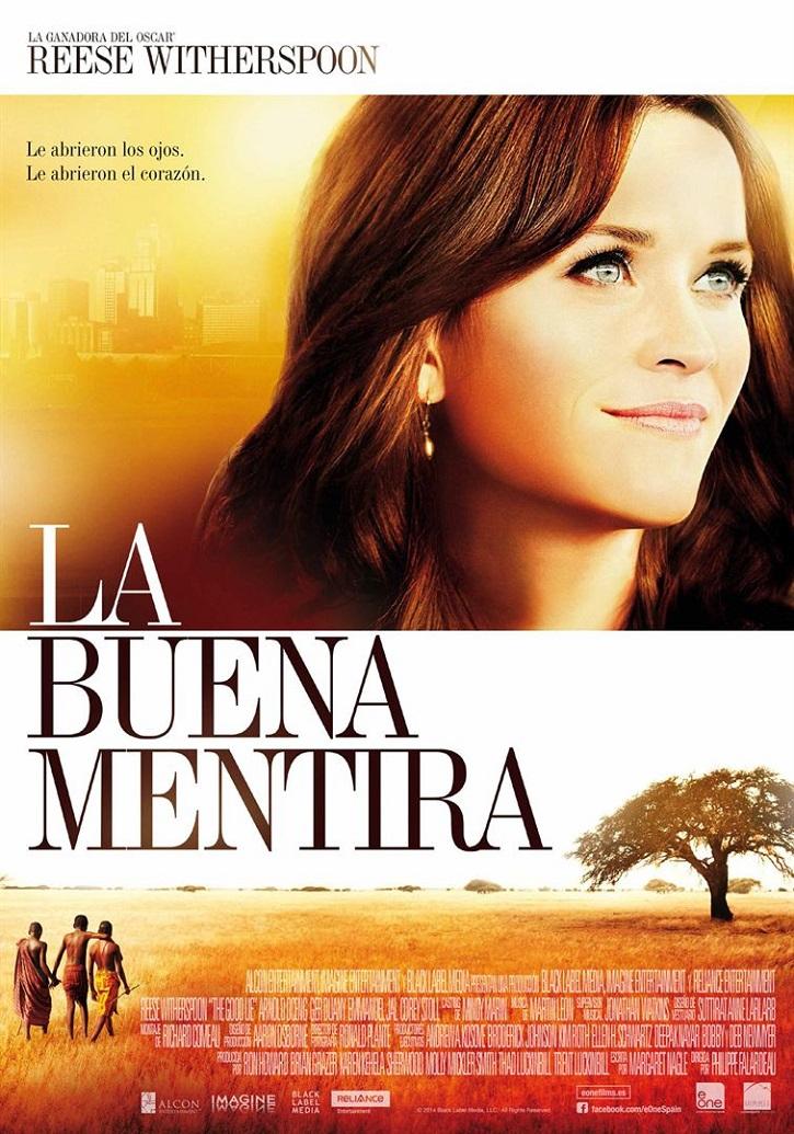 Cartel promocional del filme | 'La buena mentira': Reese Witherspoon humaniza el drama de inmigrantes