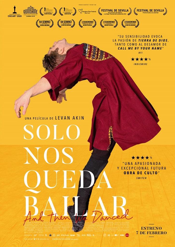 Cartel promocional del filme | 'Sólo nos queda bailar': Levan Akin resbala al cruzar amor y danza