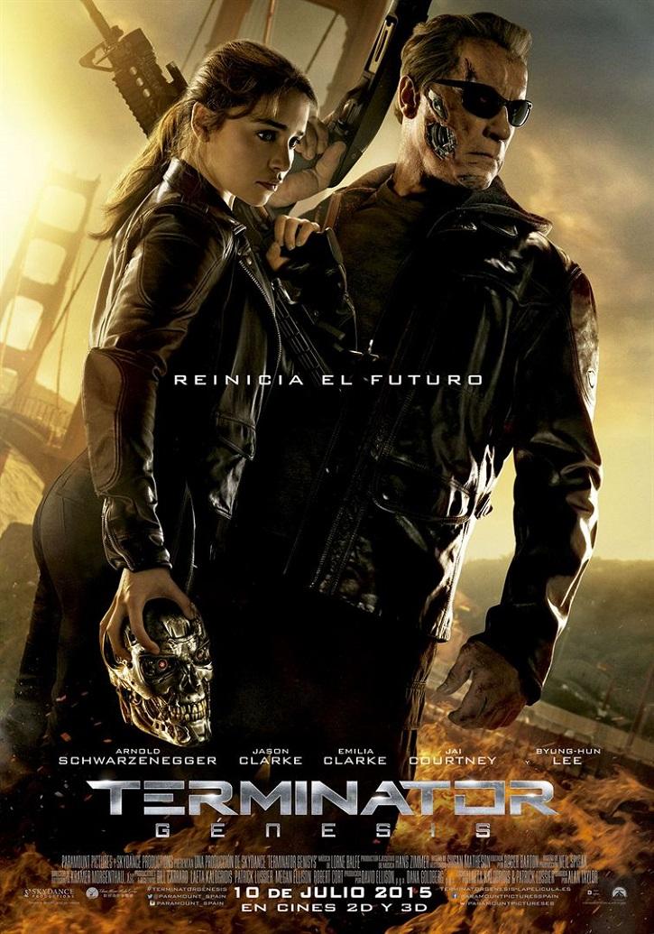 Cartel promocional del filme | ¿'Terminator: Génesis' es inferior a 'Terminator: Destino oscuro'?