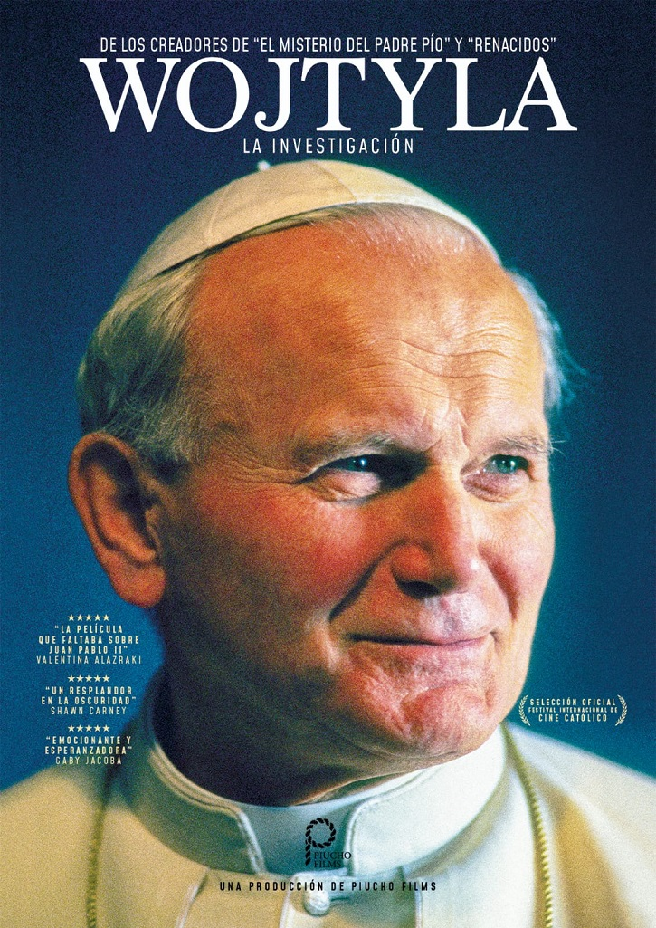 Cartel promocional del filme | 'Wojtyla. La investigación': Arrollador documental de José María Zavala
