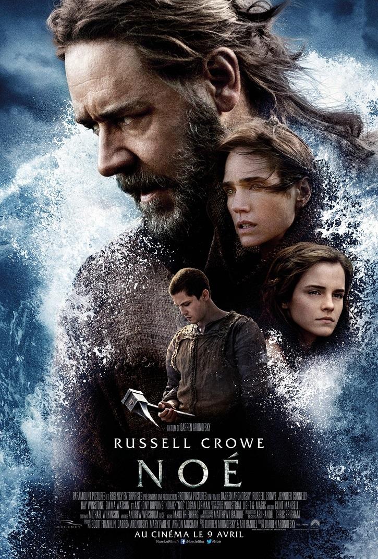 Cartel promocional del filme | 'Noé', película censurada por los países árabes, no contradice al Islam