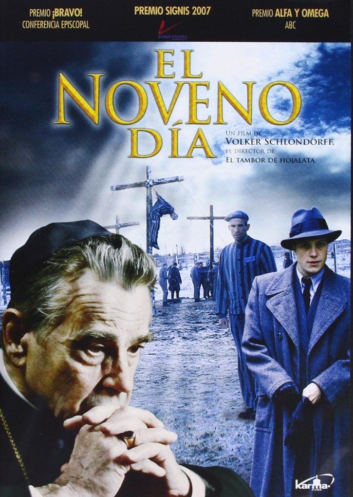 Cartel promocional del filme | 'El noveno día': Agónica encrucijada de un cura católico en Dachau