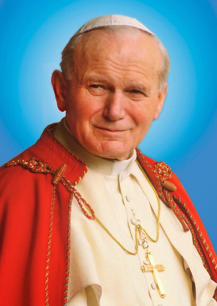 Tapiz del Papa Juan Pablo II el día de su beatificación | Celebramos hoy el centenario del nacimiento del Papa San Juan Pablo II