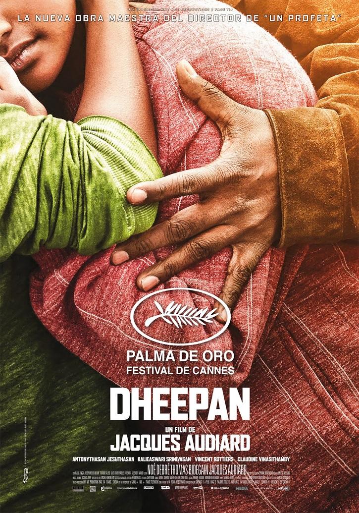 Cartel promocional del filme | 'Dheepan': Jacques Audiard renuncia al victimismo sobre la inmigración