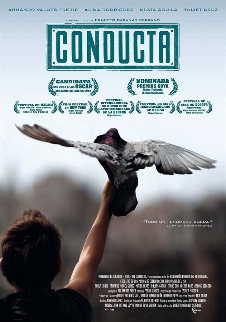 Cartel promocional del filme | 'Conducta': Sólido drama de Ernesto Daranas sobre la docencia en Cuba