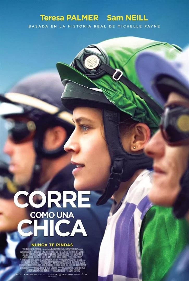 Cartel promocional del filme | 'Corre como una chica': Acertado biopic sobre la amazona Michelle Payne