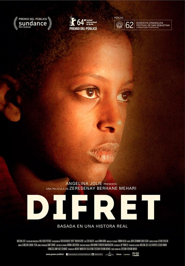 Cartel promocional del filme | 'Difret': Zeresenay Mehari dice no al drama del matrimonio infantil etíope