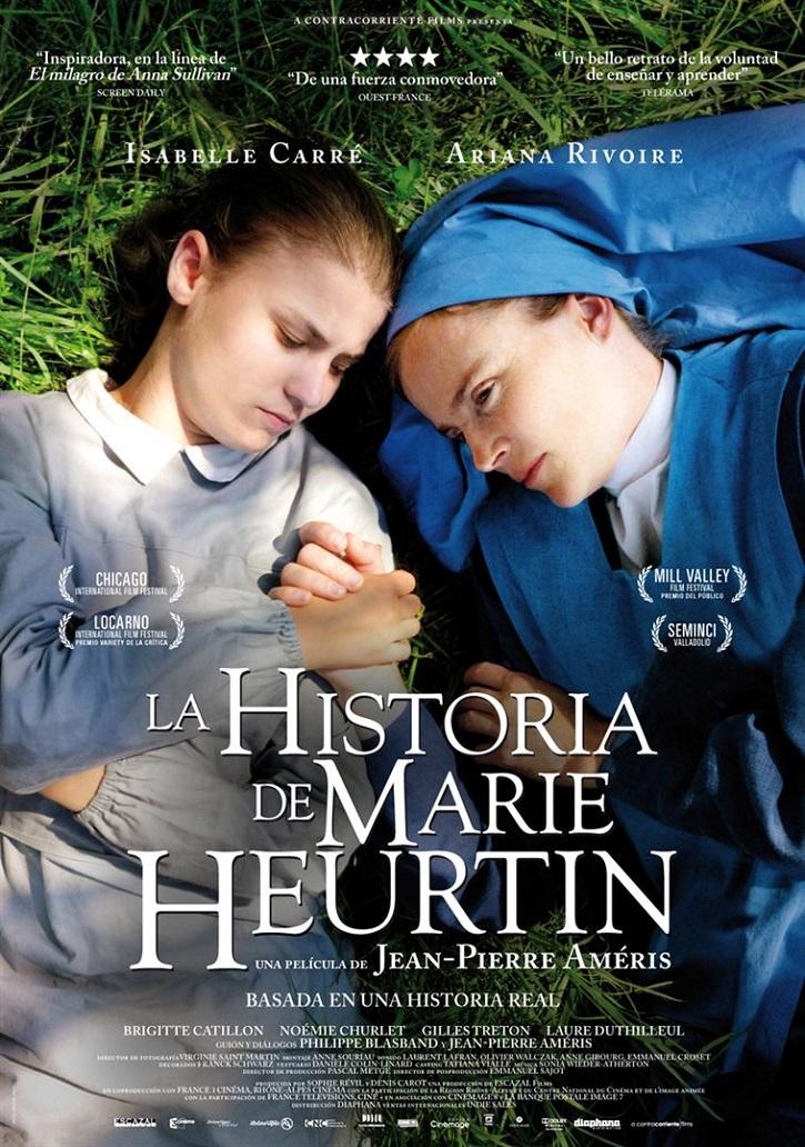 Cartel promocional del filme | 'La historia de Marie Heurtin': ¿Por qué Dios permite mi discapacidad?