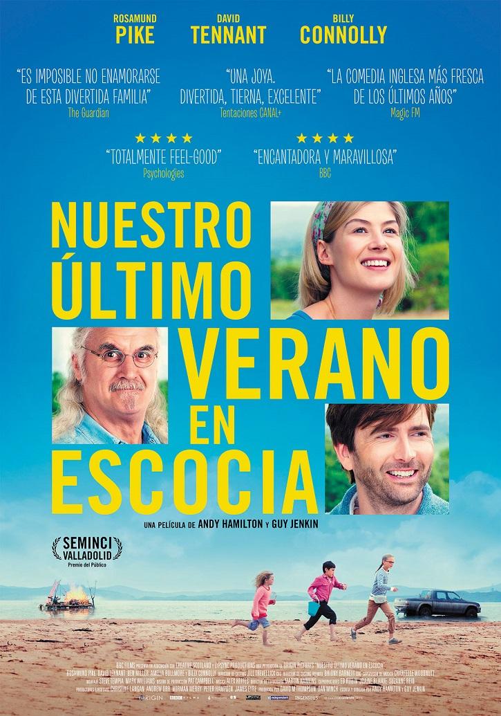 Cartel promocional del filme | 'Nuestro último verano en Escocia': Chispeante comedia familiar inglesa